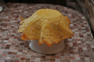 Сырные  корзиночки рецепт