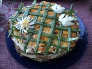 Печеночный тортик рецепт Анны Чумаевой (Хлыбовой)