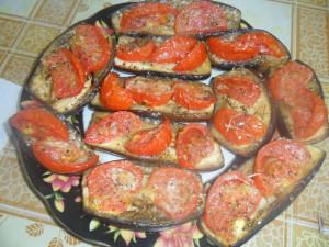 Запеченные синие баклажаны рецепт Верба Тамары