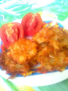 Картофельные ежики рецепт Нины Столбовой