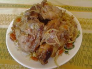 Курица по китайски рецепт Нины Столбовой