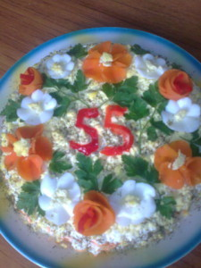 Салат легкий рецепт Нины Столбовой
