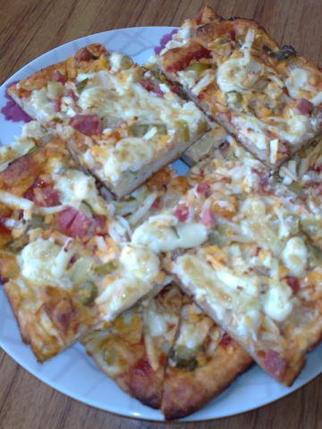 Пицца на жидком тесте рецепт Нины Столбовой