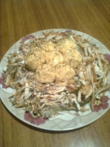 Салат гнездо рецепт Нины Столбовой