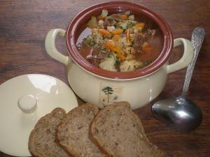 Суп из языка. Рецепт из альбома Татьяны Никитиной