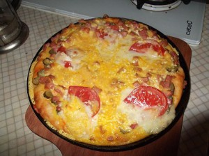 Пицца с брынзой рецепт Людмилы Кузнецовой