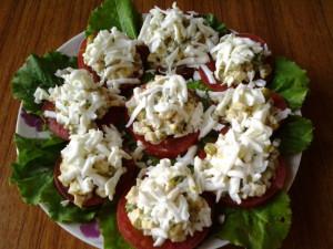 Вечерний звон салат Нины Столбовой