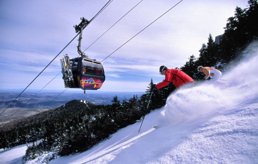Путешествие по штату Вермонт