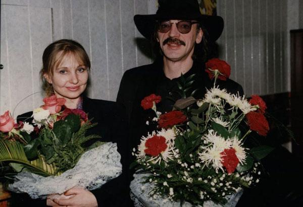 Михаил Боярский и Лариса Лупиан