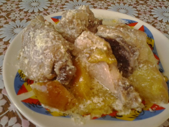 Цыпленок в сметане