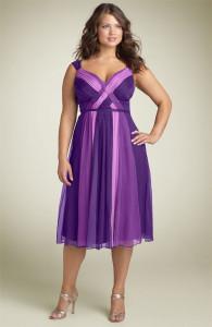 мода для полных девушек 2013