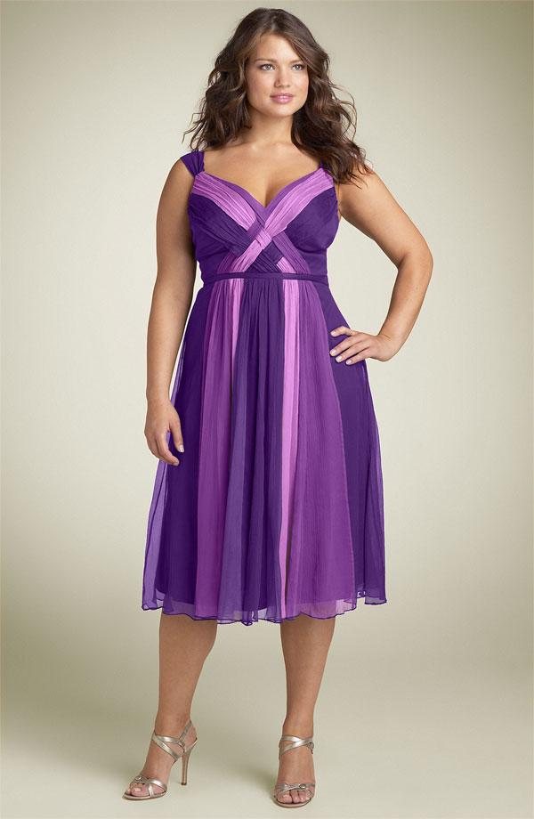 Мода для полных девушек в 2013 году