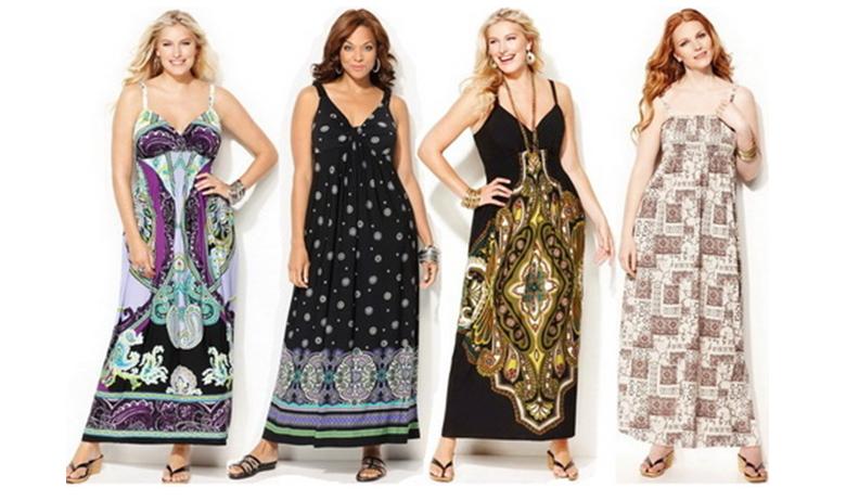 Модные платья, летние сарафаны для полных в ФОТО! . Ведь подобрать одежду по фигуре - это, можно сказать