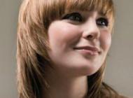 стрижки на средние волосы фото лесенка