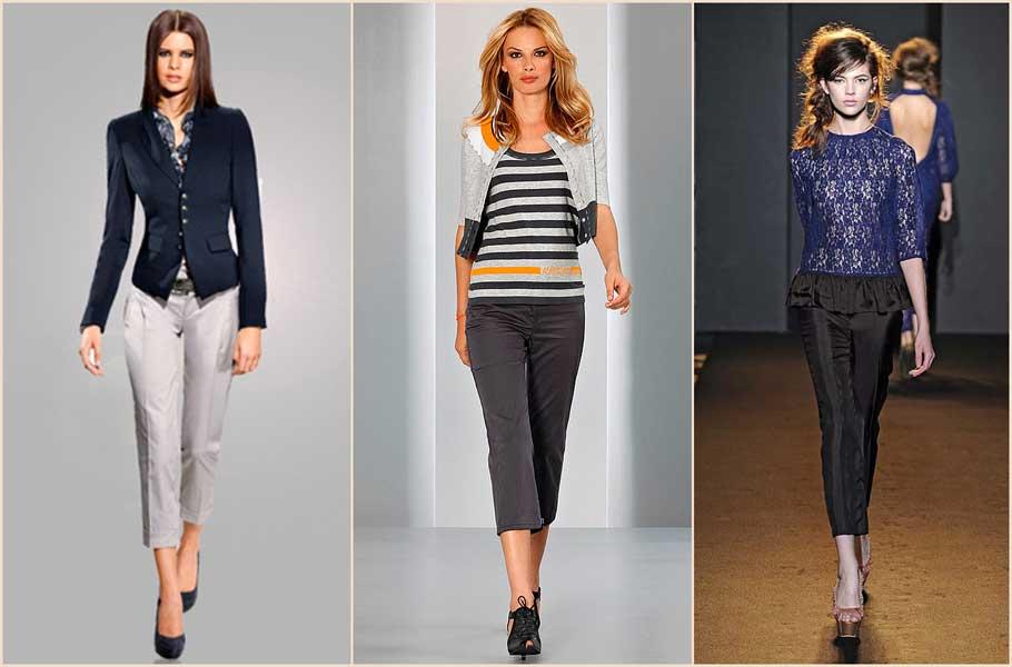 мода весна лето 2014 брюки