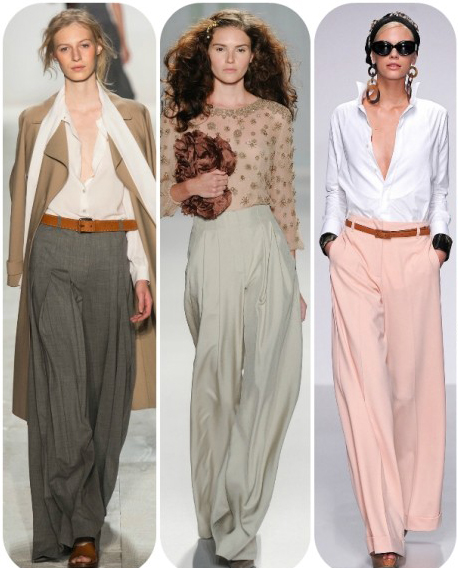 лето 2014 мода брюки