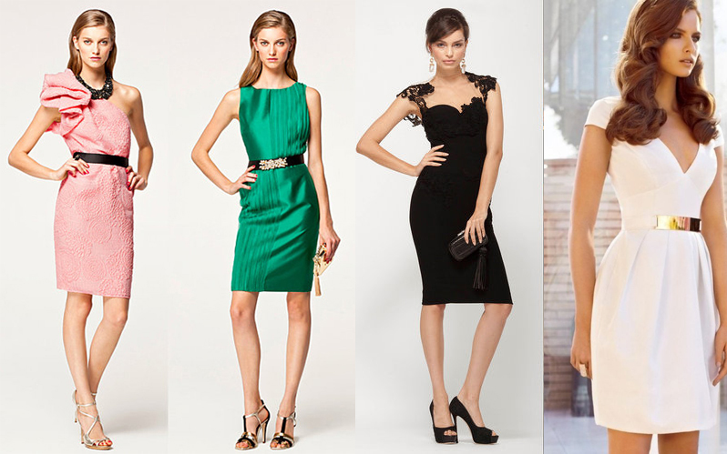 мода весна лето 2013 платья