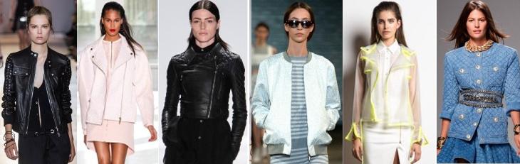 мода весна лето 2014 куртки