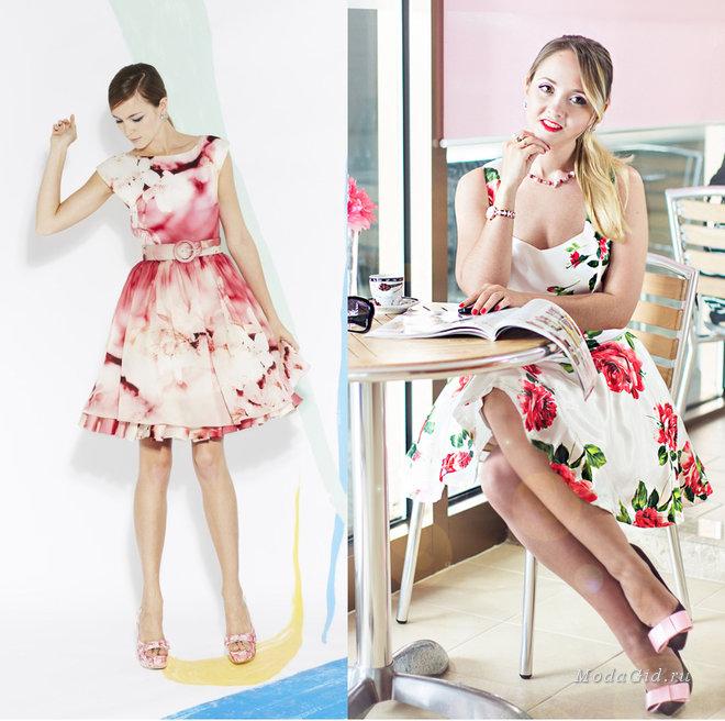 мода весна лето 2013 платья фото