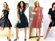 платья для девушек маленького роста
