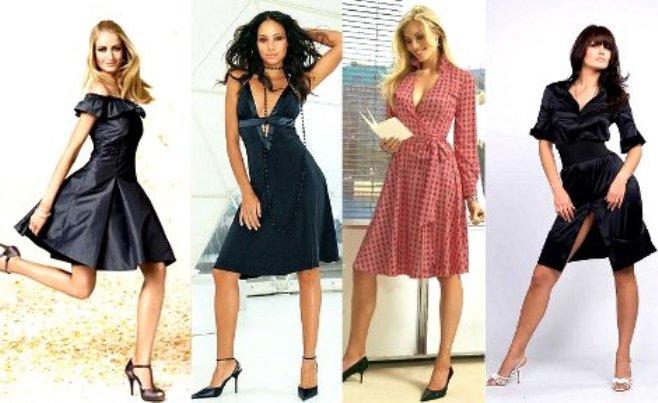 Какая длина платья подходит для невысоких полных женщин