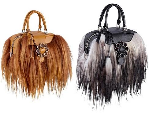 меховые сумки 2015