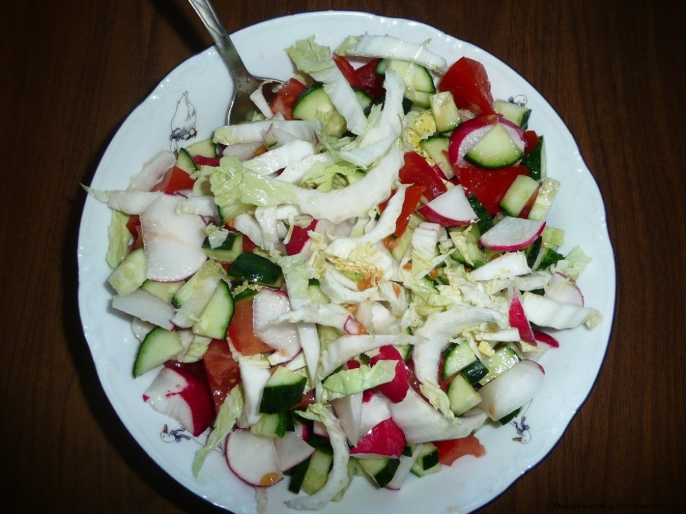 Диета 6 лепестков: овощной день