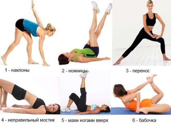 какие делать упражнения +чтобы похудели ноги